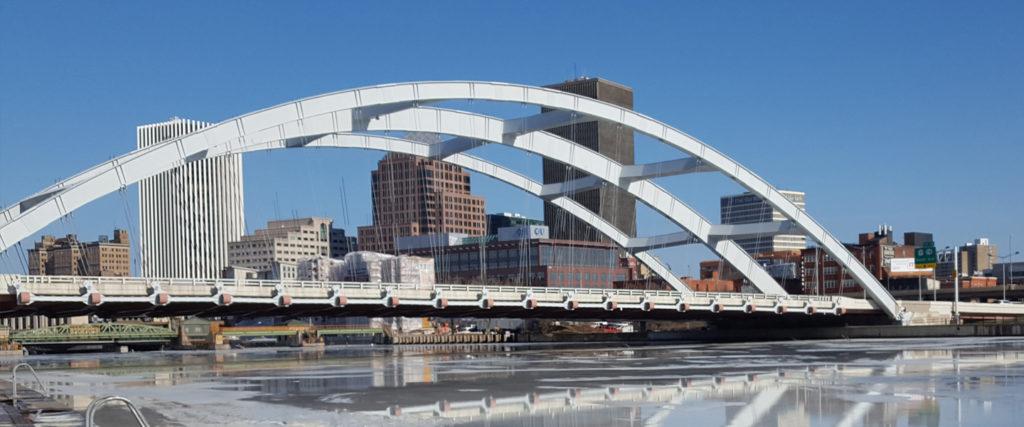 Frederick Douglass Susan B. Anthony Bridge in Rochester, NY