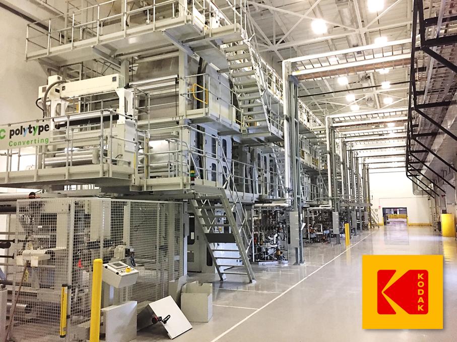 Kodak Coating Services machinery