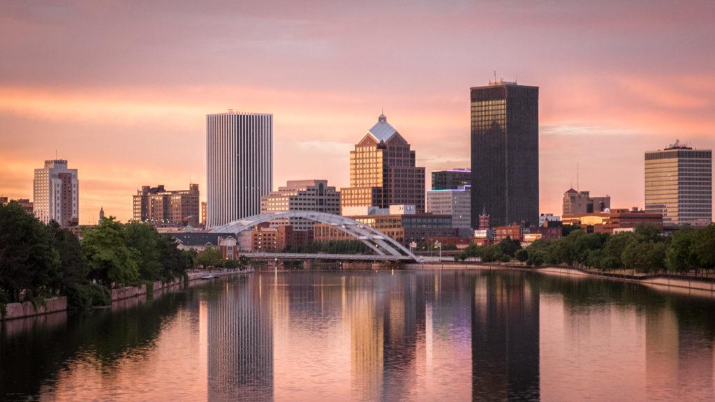 Skyline of Rochester, NY